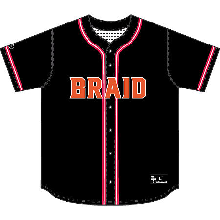 SUBLIMATED BASEBALL JERSEY - FULL BUTTON