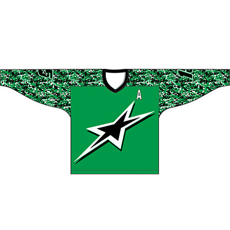 DECORATED SUBLIMATED HOCKEY JERSEY