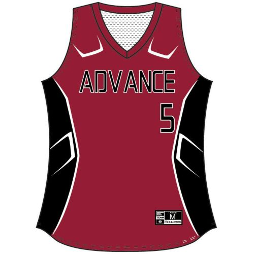 SUBLIMATED SOFTBALL JERSEY - SLEEVELESS