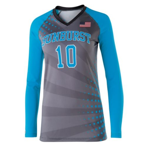 SUBLIMATED VOLLEYBALL JERSEY L/S