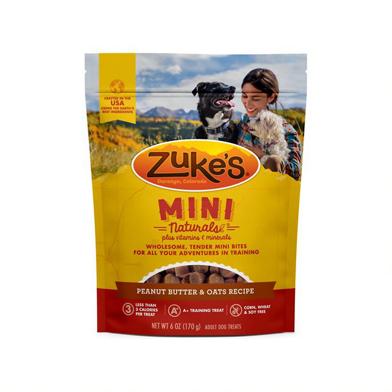 Zuke s Mini Naturals Peanut Butter Dog Treats