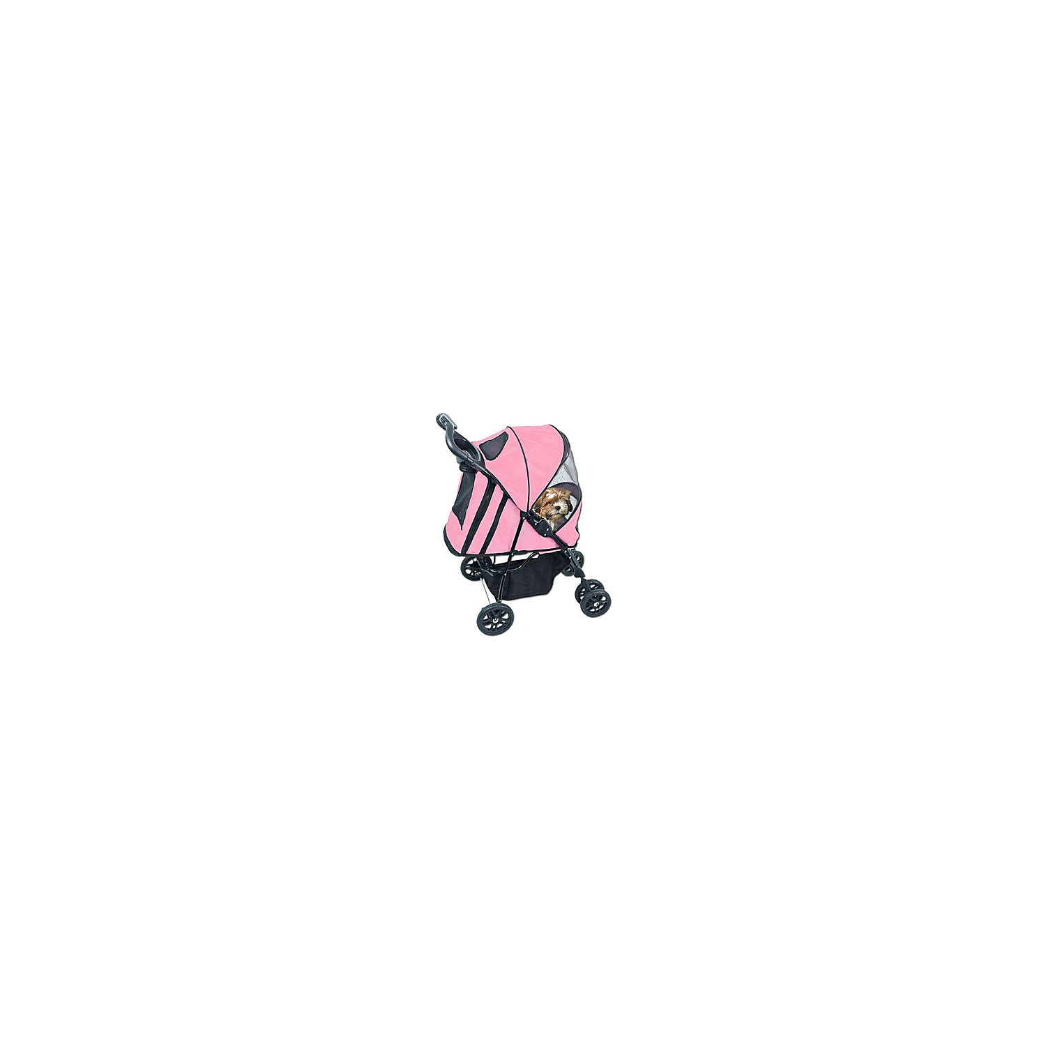 Pet Gear Pink Happy Trails Pet Stroller