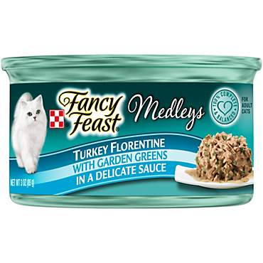 Purina Fancy Feast Medleys Turkey Florentine With Garden Greens in a Delicate Sauce Adult Wet Cat Food