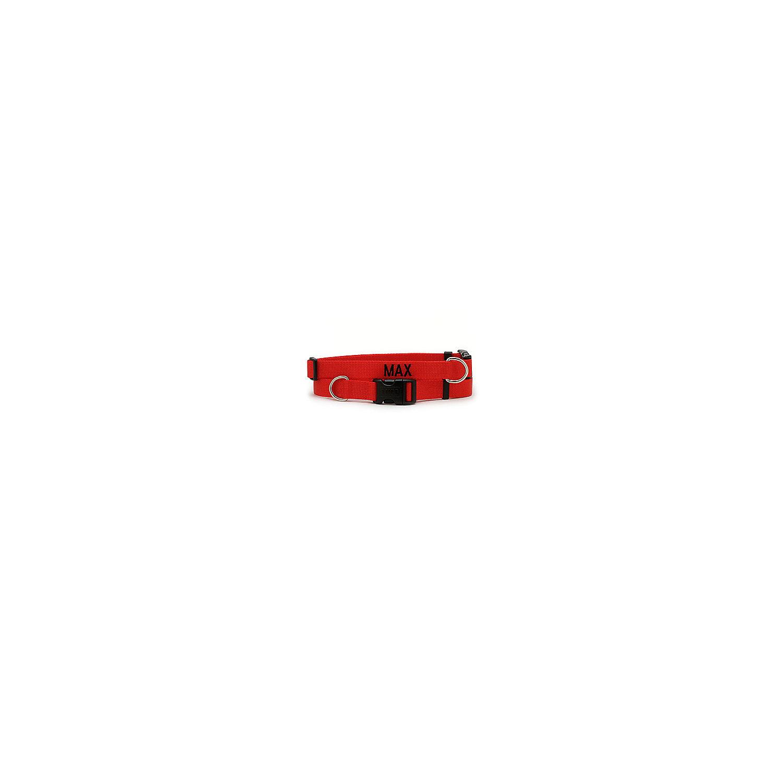 Coastal Pet Adjustable Nylon Tuff Collar In Red Large