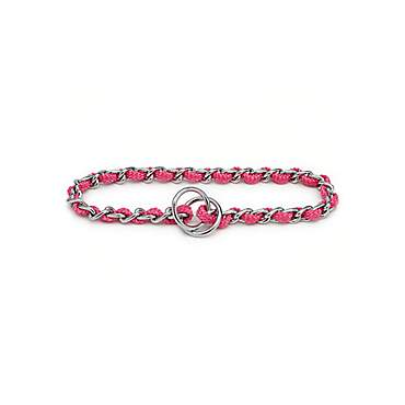 Aspen Pet by Petmate Pink Mighty Link Medium Comfort Chain Collars in Pink