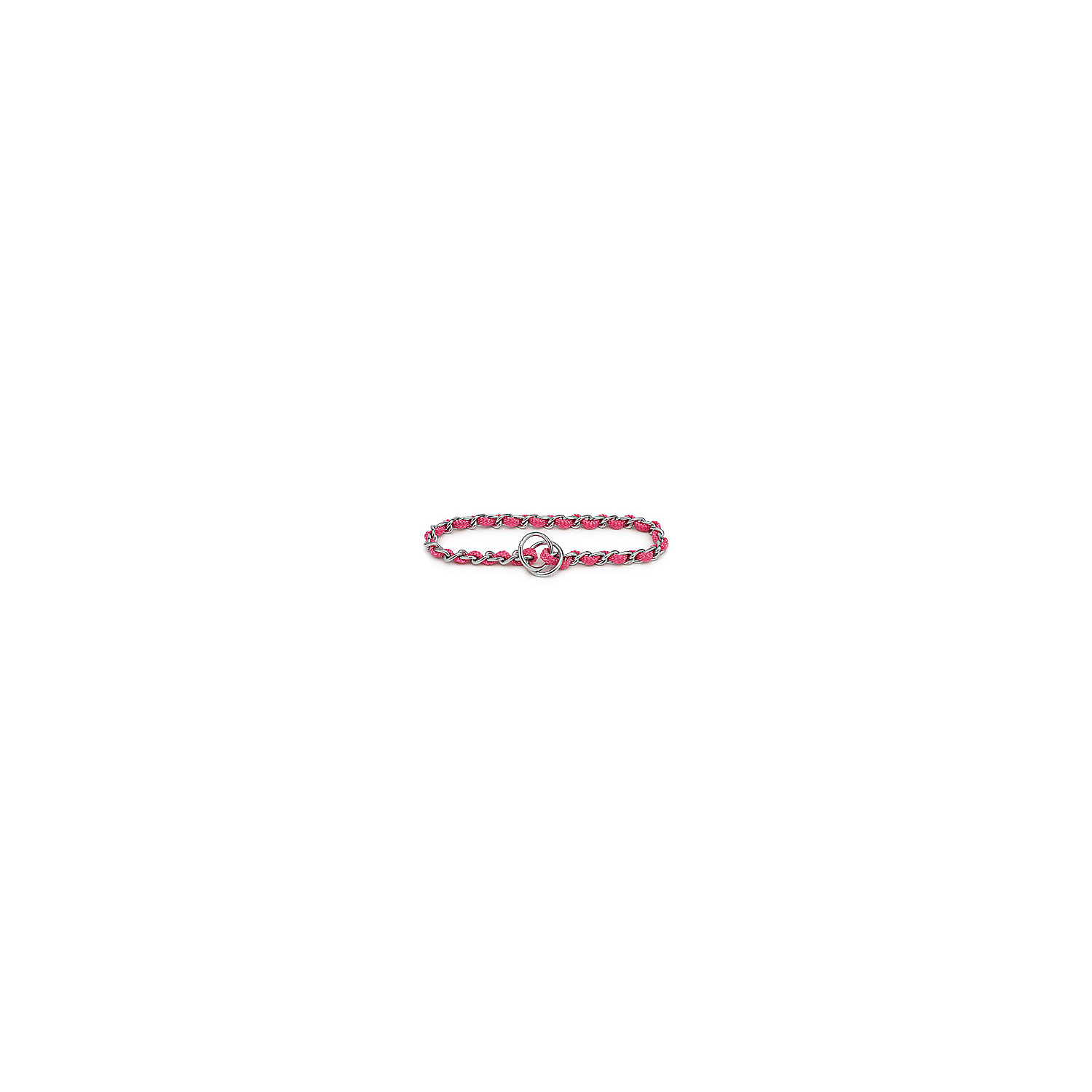 Aspen Pet By Petmate Mighty Link Medium Comfort Chain In Pink 16 Length