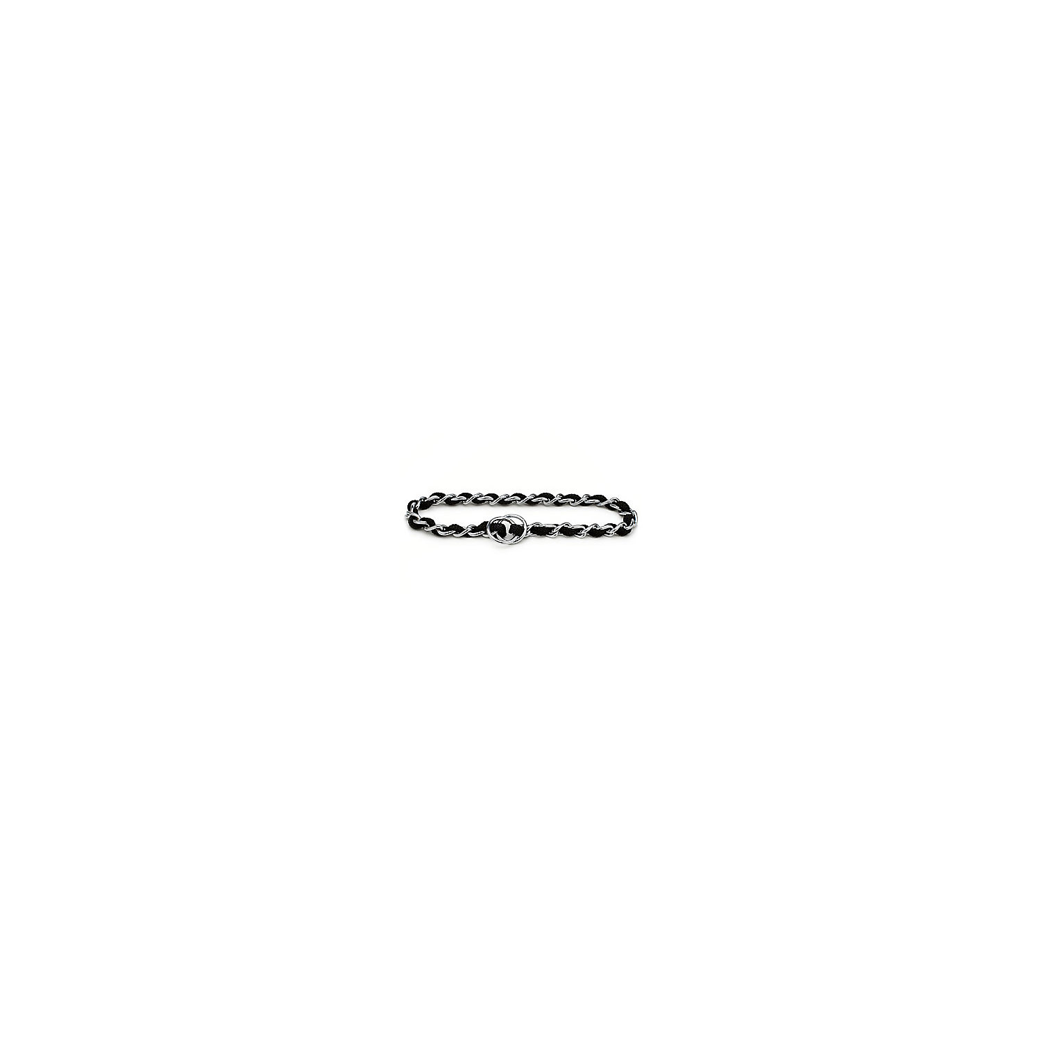 Aspen Pet By Petmate Mighty Link X Large Comfort Chain Dog Collar In Black 24 Length