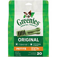 Greenies Petite Dental Dog Treats