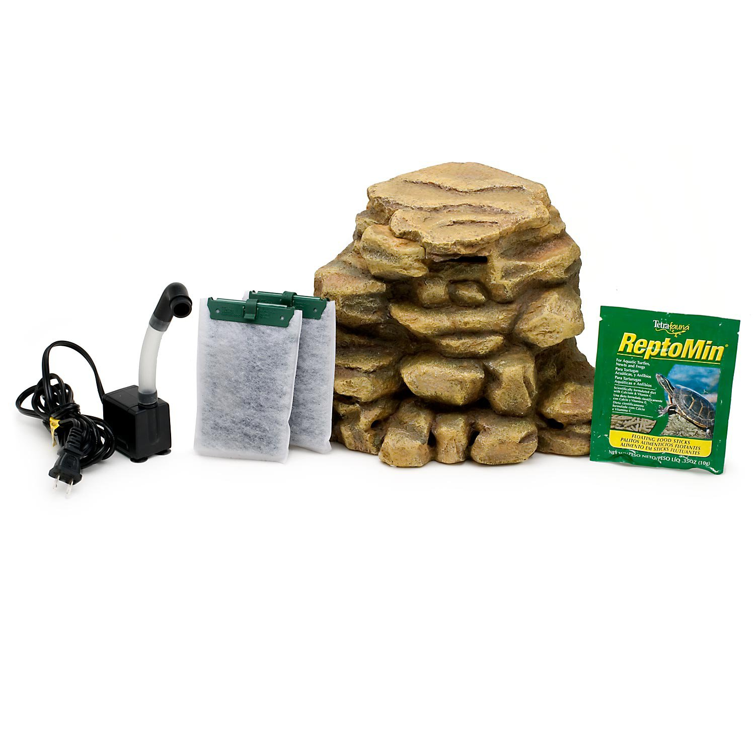tetra decorative reptofilter for frogs newts amp turtles