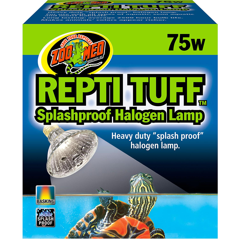 Zoo Med Turtle Tuff Splashproof Halogen Lamp
