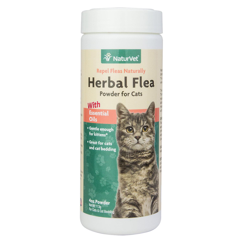 Naturvet Herbal Flea Powder For Cats Cat Bedding