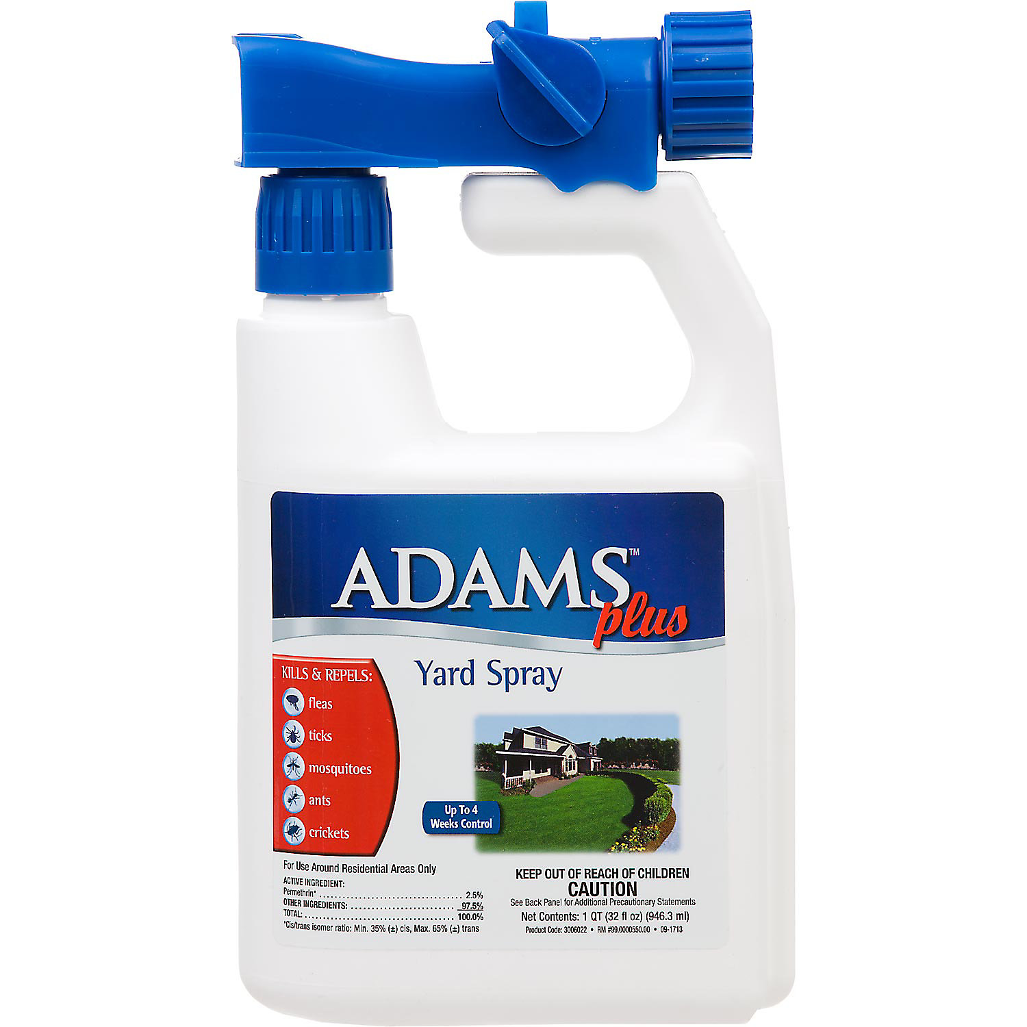Adams Plus Flea Tick Yard Spray 32 Oz.