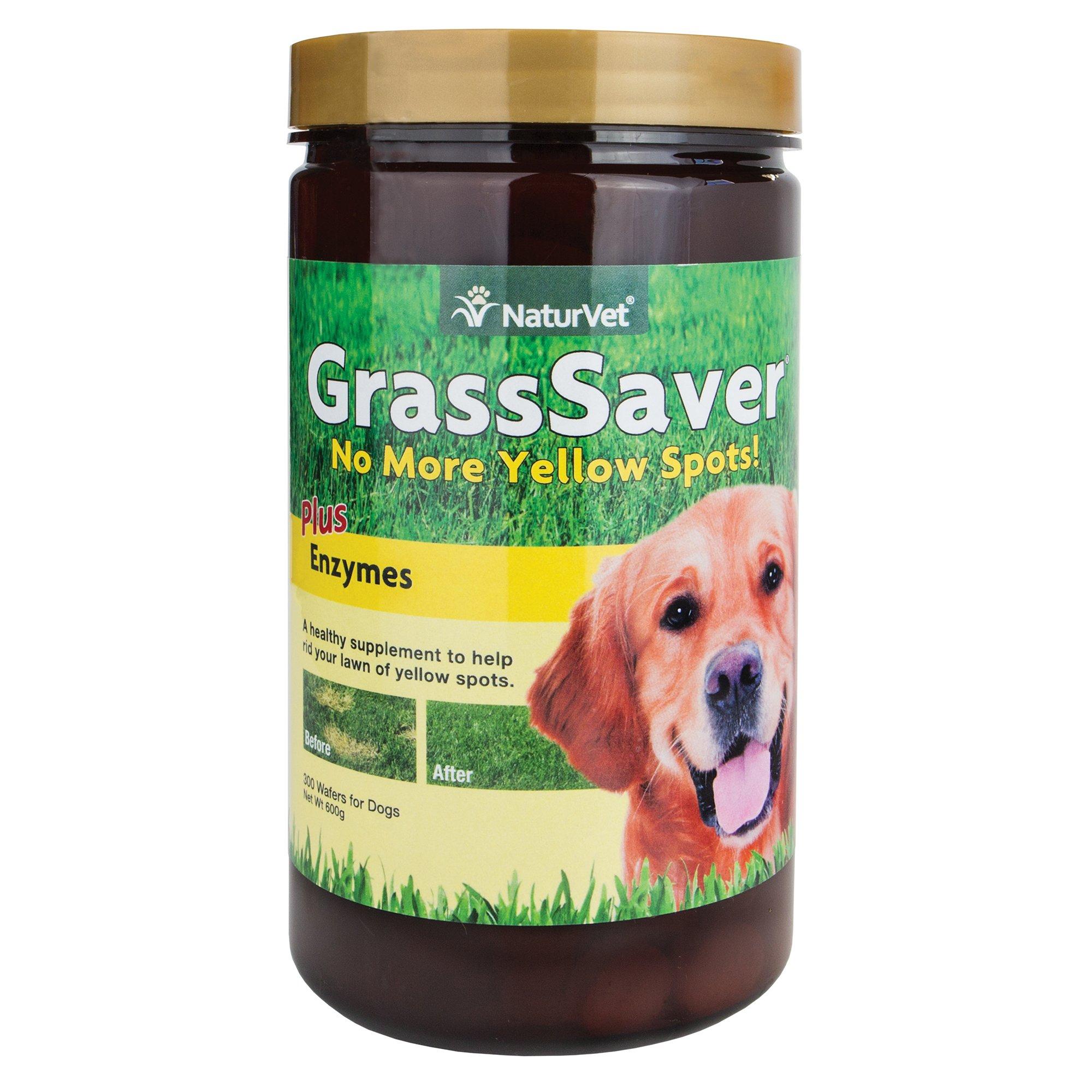 NaturVet GrassSaver Wafers for Dogs