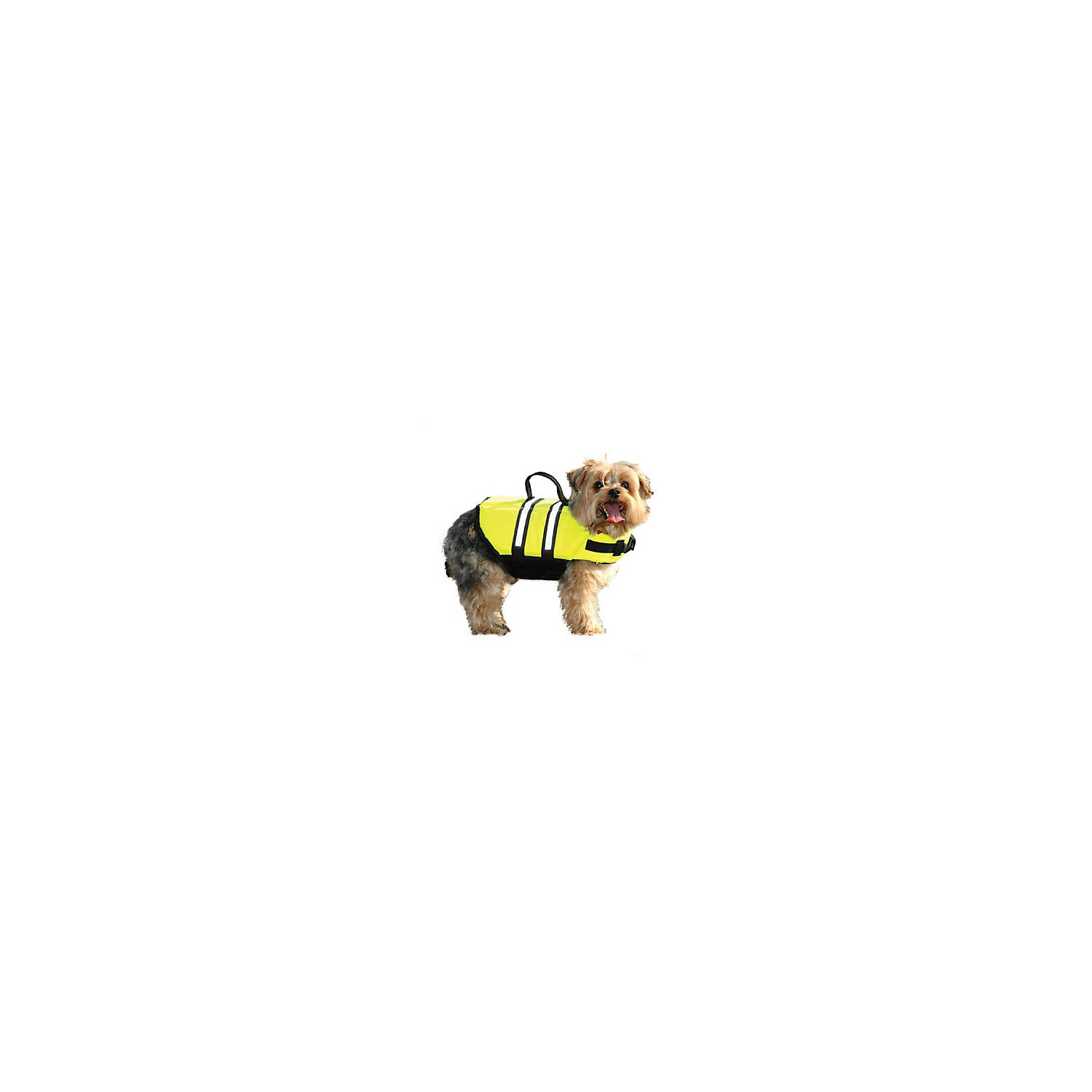 Paws Aboard Doggy Life Jacket In Yellow X Small