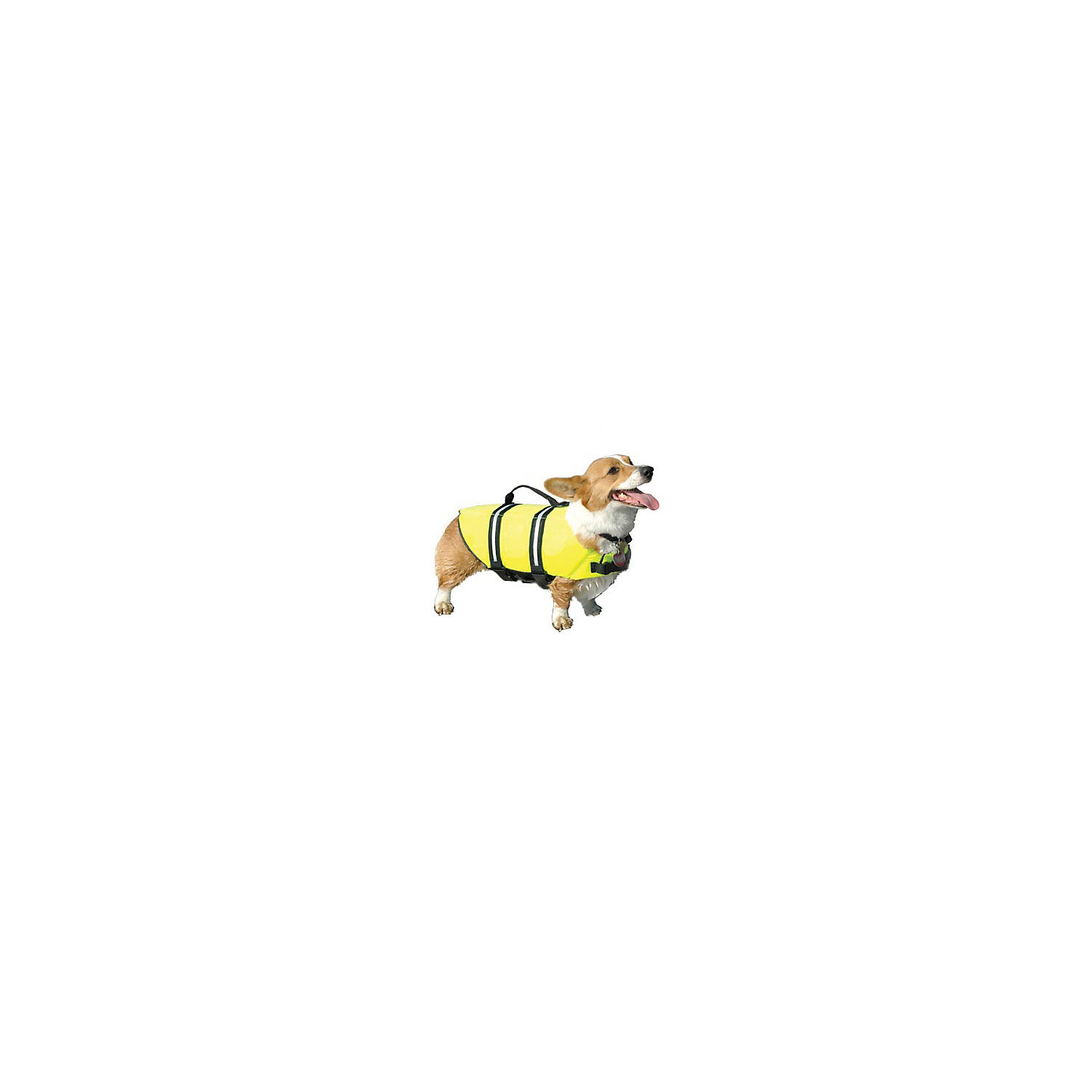 Paws Aboard Doggy Life Jacket In Yellow Medium