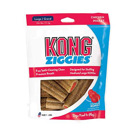 KONG Ziggies Adult Dog Treats