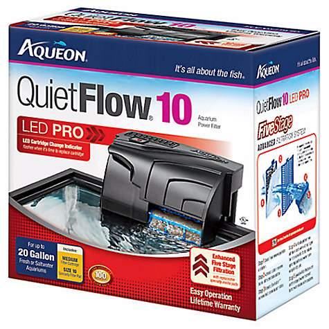 Discount Filters Promo Code >> Aqueon QuietFlow 10 Aquarium Power Filter | Petco