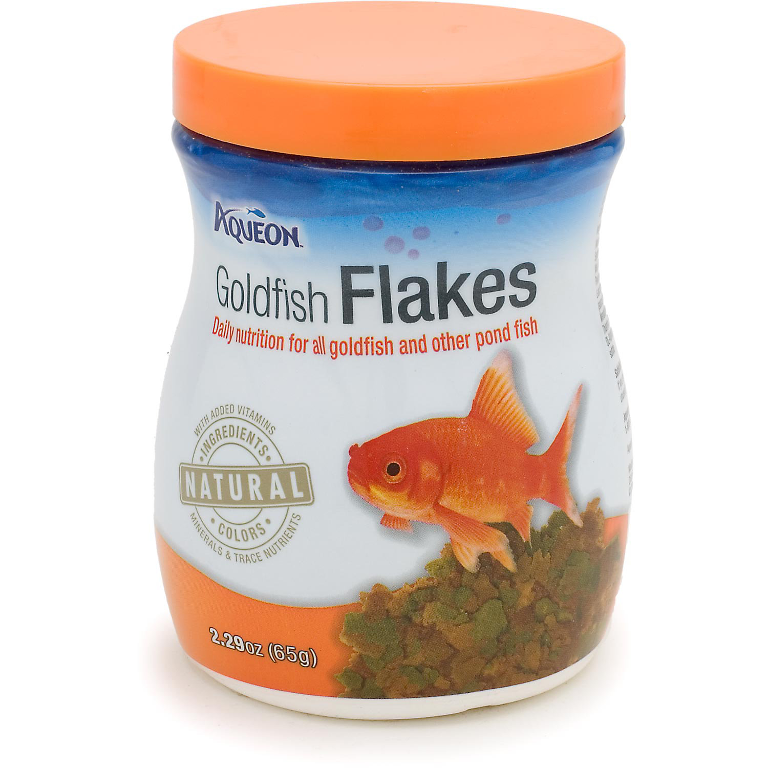 Aqueon Goldfish Flakes 2.29 Oz.