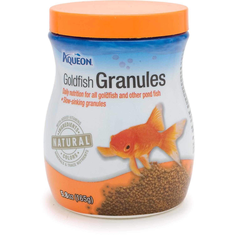 Aqueon goldfish granules petco for Petco fish food