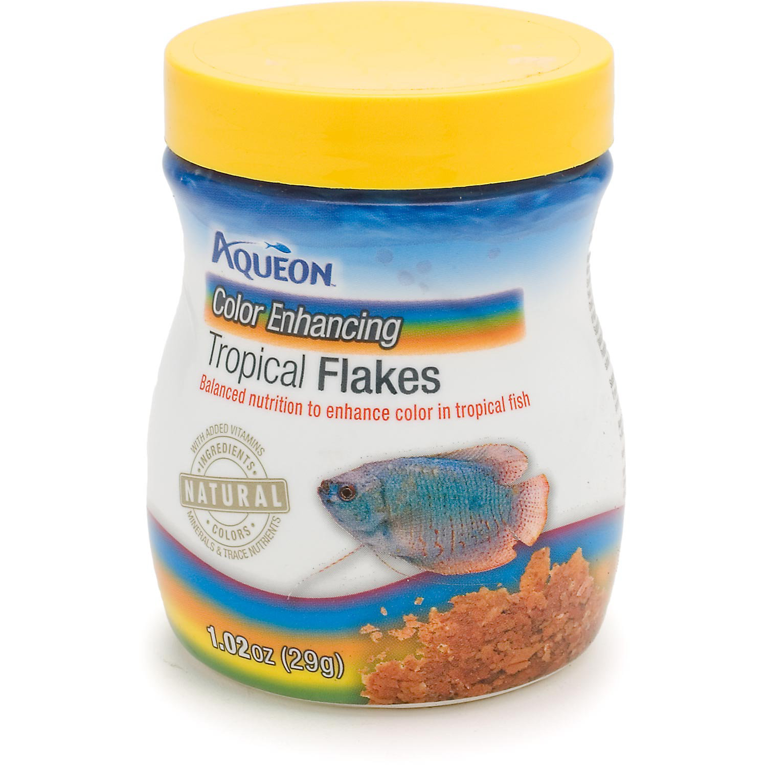 Aqueon Color Enhancing Tropical Flakes 1.02 Oz.