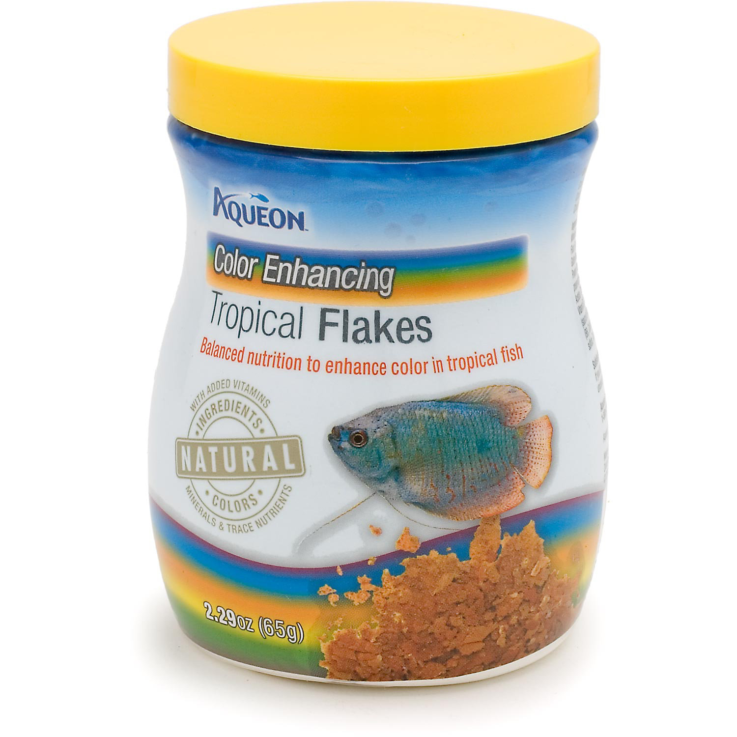 Aqueon Color Enhancing Tropical Flakes 2.29 Oz.