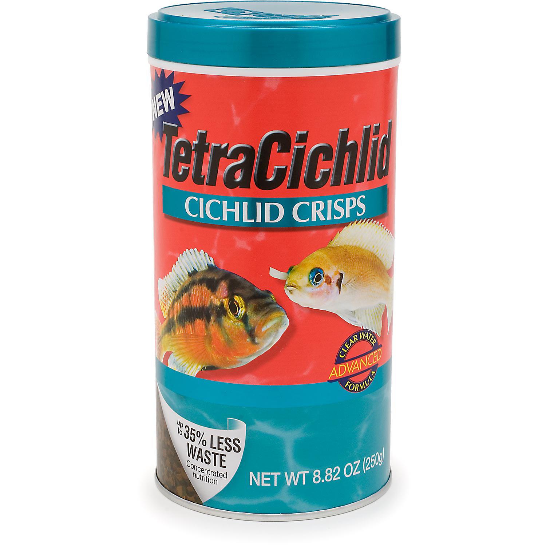 046798771944 upc tetracichlid cichlid crisps fish food for Petco fish food