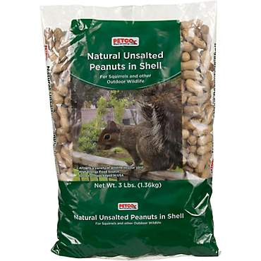 Petco Natural Unsalted Peanuts in Shell Wildlife Food