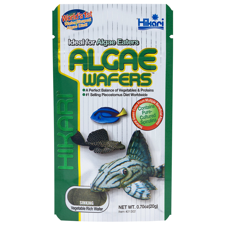 Hikari Tropical Algae Wafers For Plecostomus Algae Eaters