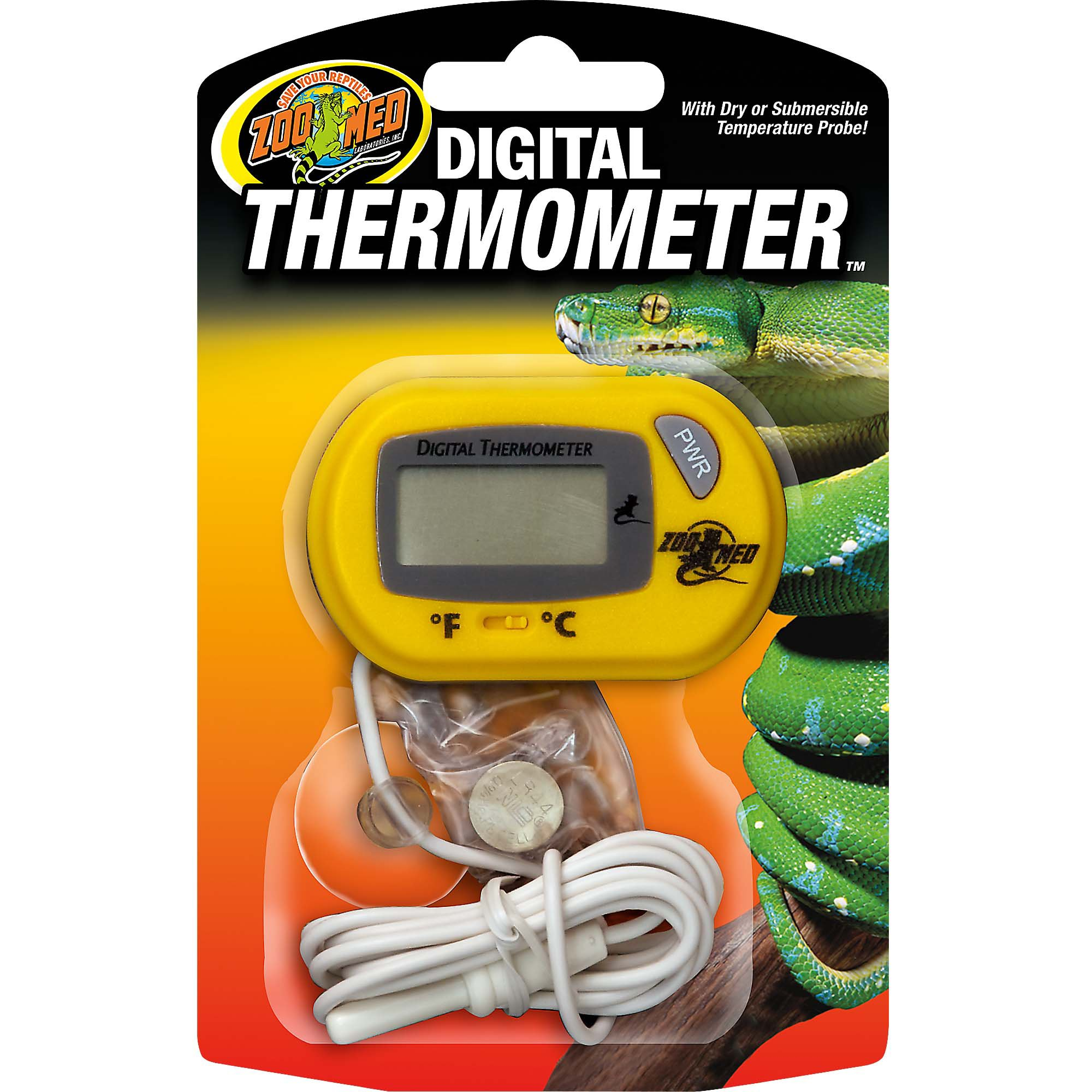 Fish tank cleaning service - Zoo Med Digital Thermometer