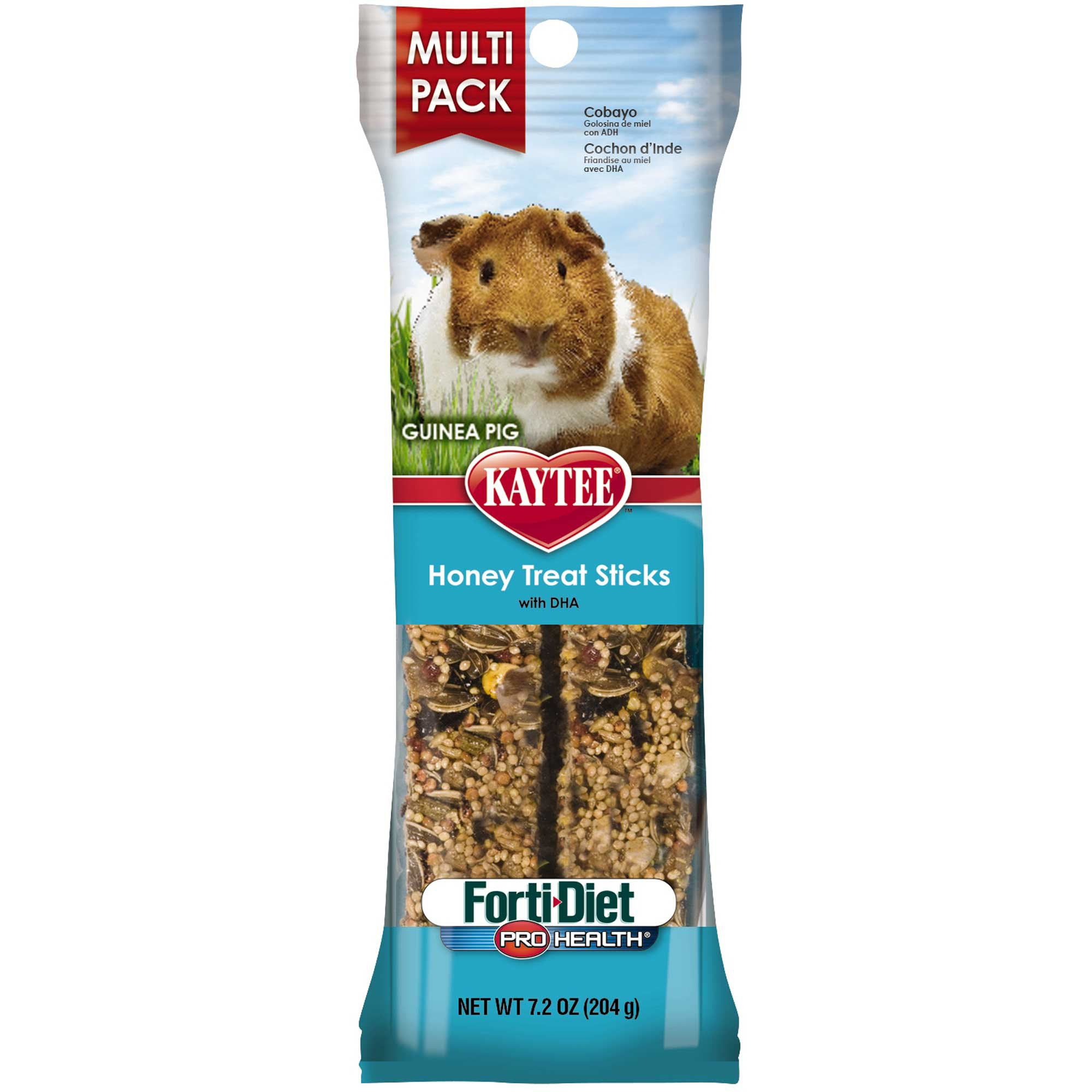 Kaytee forti diet pro health honey stick guinea pig treats for How to build a guinea pig house