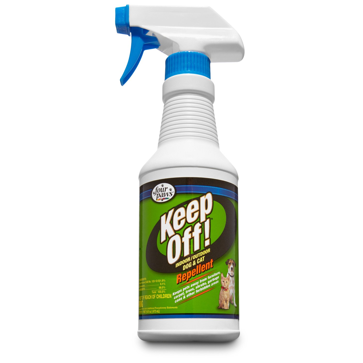 Wonderful Four Paws Keep Off Indoor And Outdoor Dog And Cat Repellent | Petco