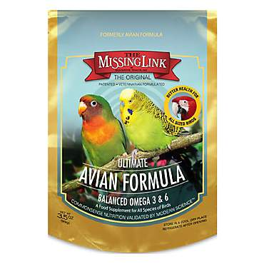 The Missing Link Original Superfood Avian Formula Bird Food Supplement