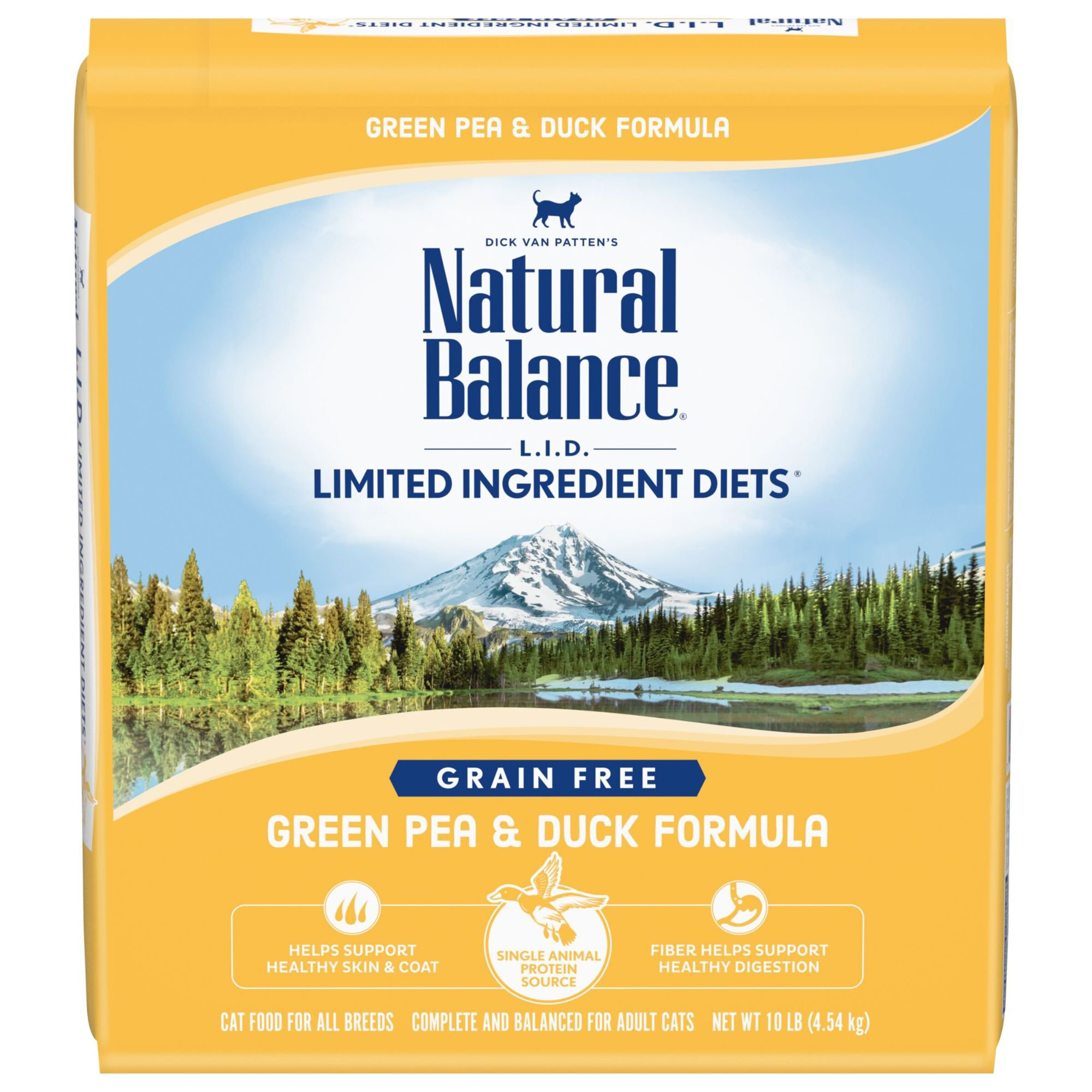 Natural Balance L.I.D. Limited Ingredient Diets Green Pea and Duck Formula Cat Food | Petco | Tuggl