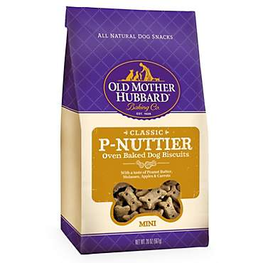 Old Mother Hubbard Crunchy Classic Natural P-Nuttier Mini Dog Biscuits