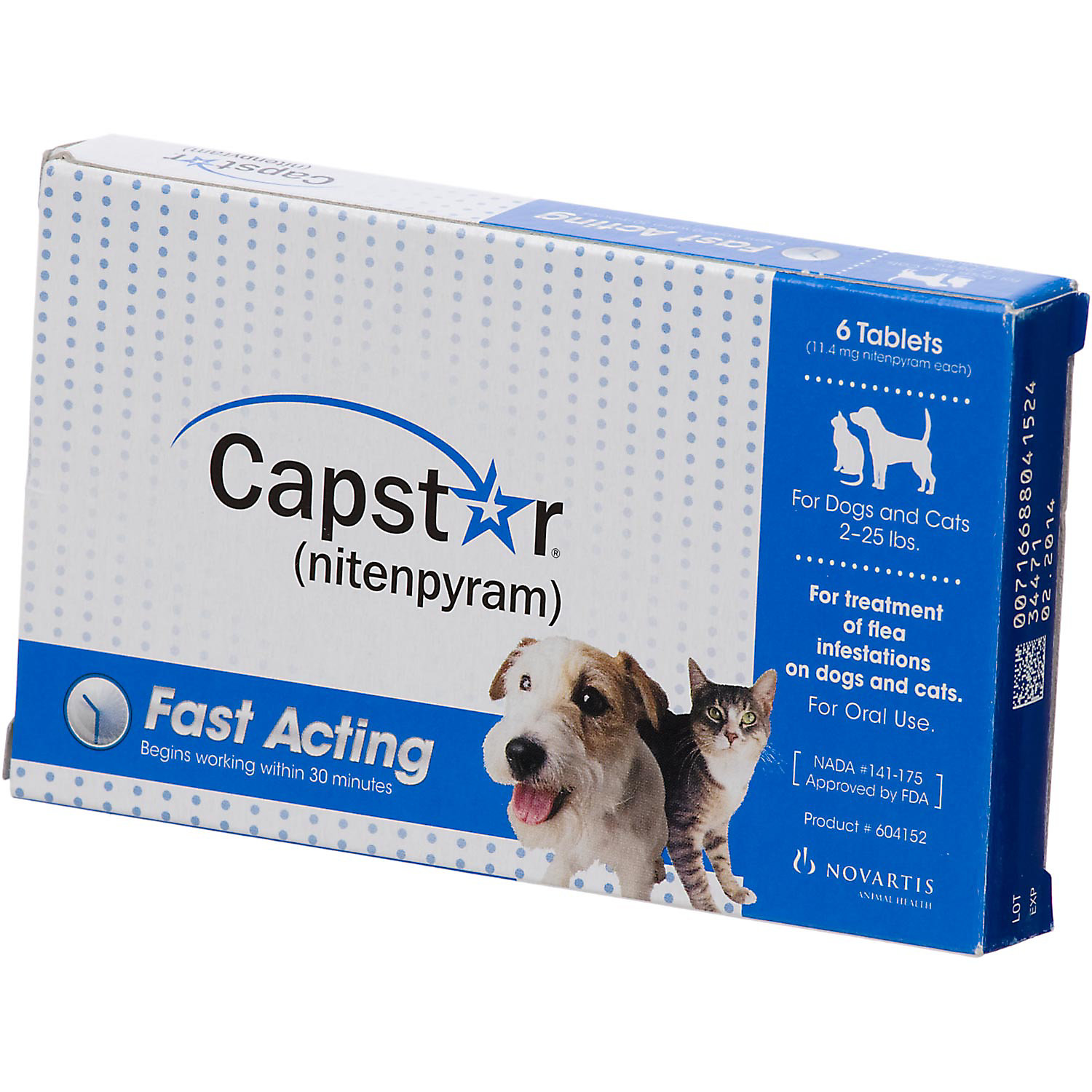 Capstar Flea Tablets for Dogs and Cats, 2-25 lbs.–PETCO-Cash Back