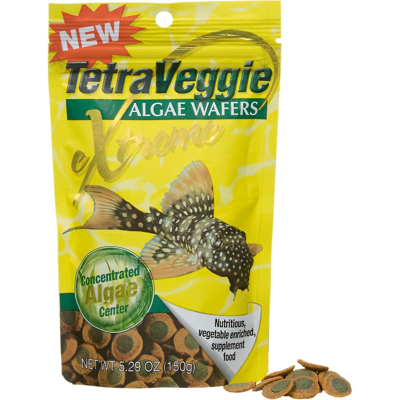 Tetraveggie algae wafers extreme petco for Petco fish food