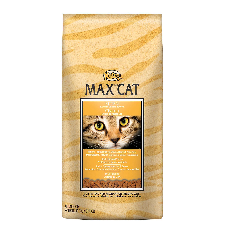 Nutro Max Cat Kitten Food Roasted Chicken Flavor 6 Lbs