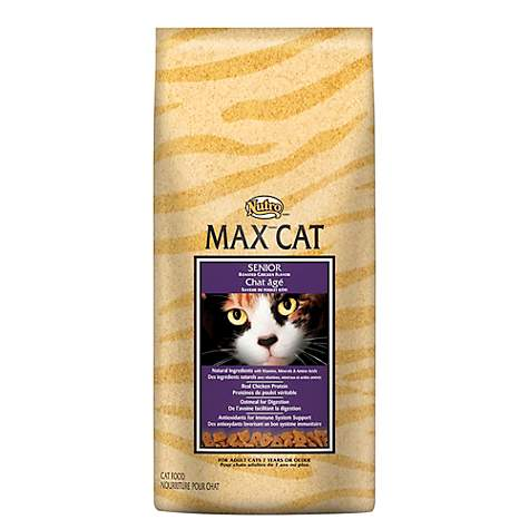 Nutro Max Cat Roasted Chicken Flavor Dry Senior Cat Food