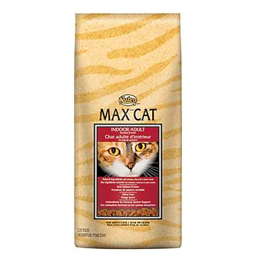 Nutro Max Indoor Salmon Flavor Dry Adult Cat Food