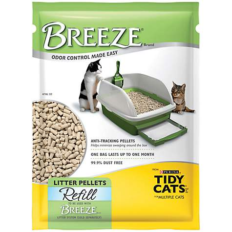 Purina Tidy Cats Breeze Pellets Refill Litter For Multiple Cats, 3.5 Lbs.    Petco