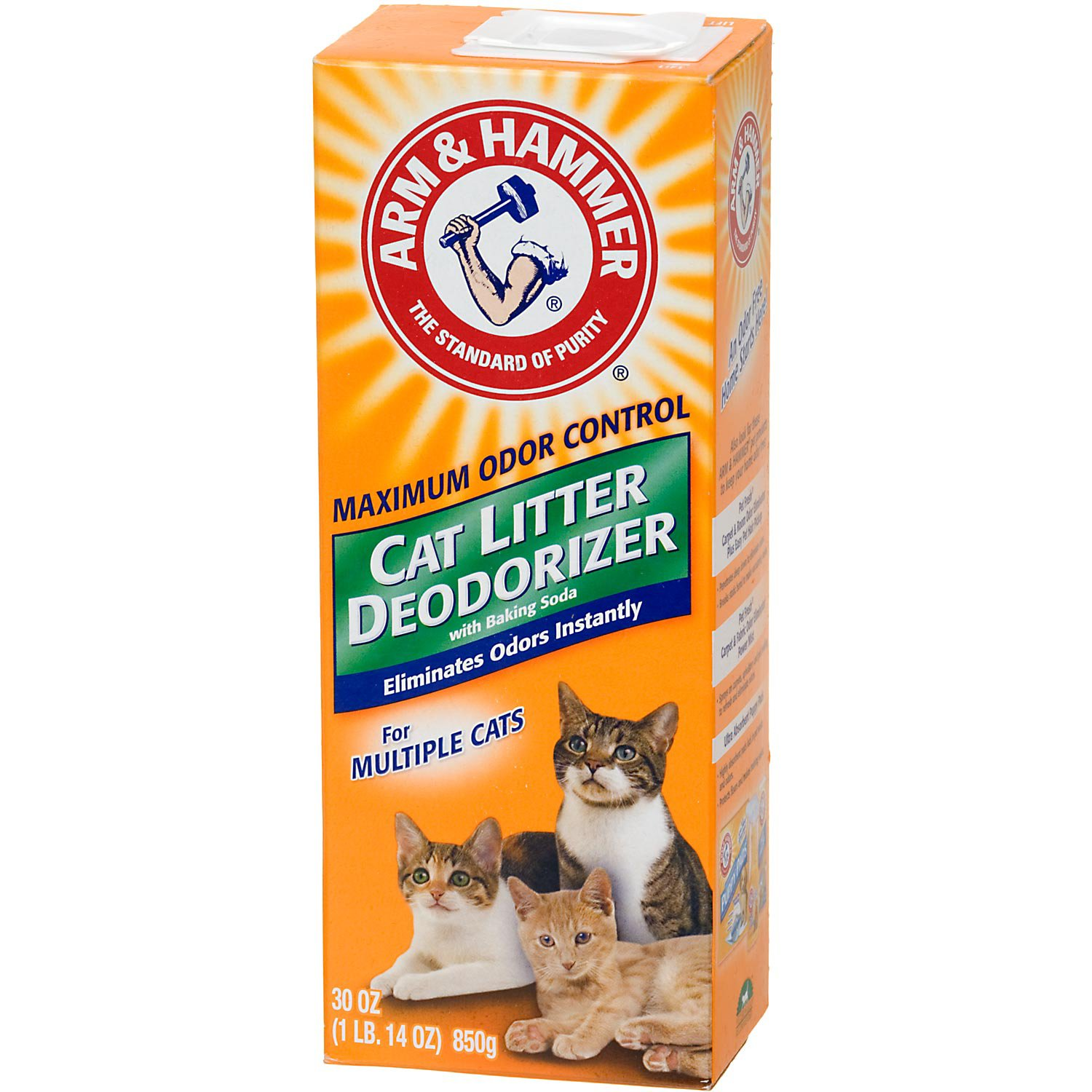 Arm Amp Hammer Multiple Cat Litter Deodorizer With Baking