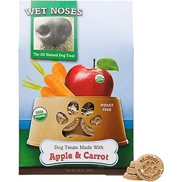 Wet Noses Apple & Carrot Organic Dog Treat