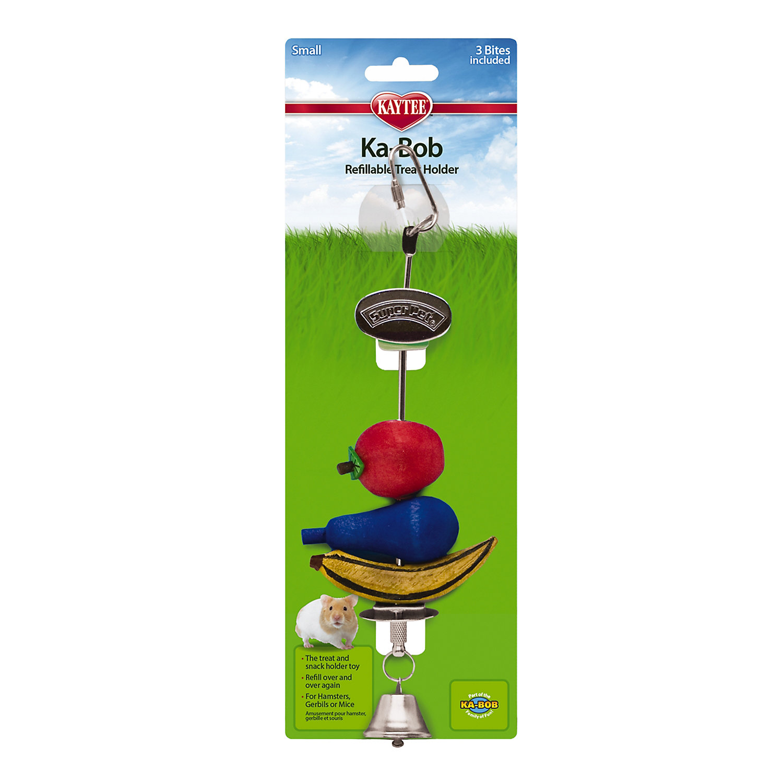 Kaytee Ka Bob Treat Dispensing Small Animal Toy Assorted