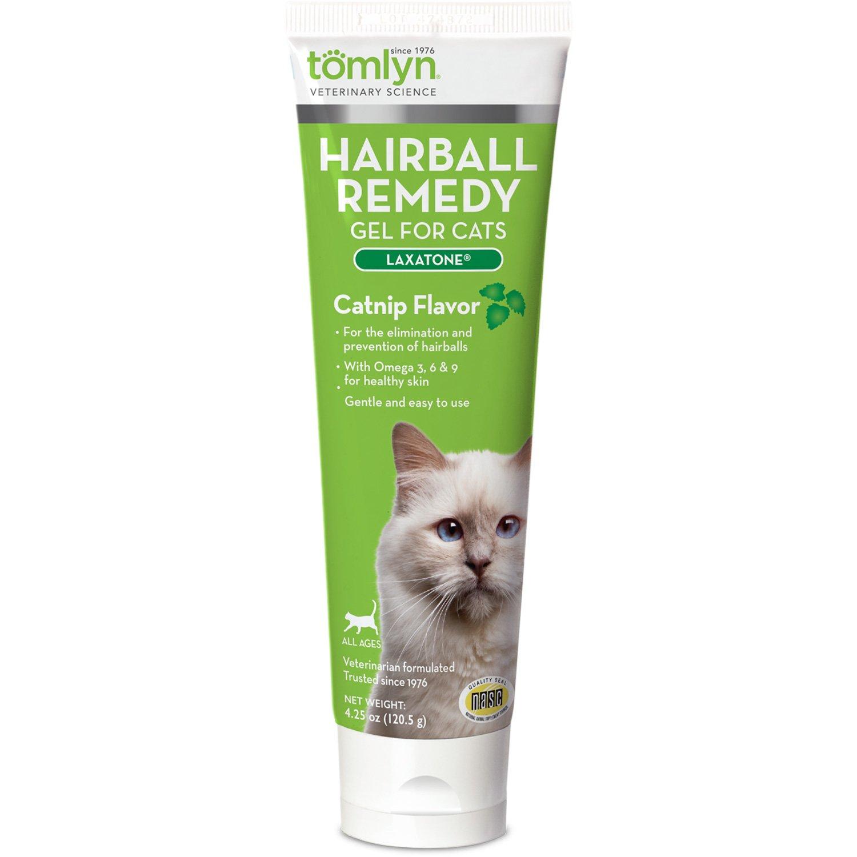 Tomlyn Laxatone Catnip Flavored Hairball Lubricant