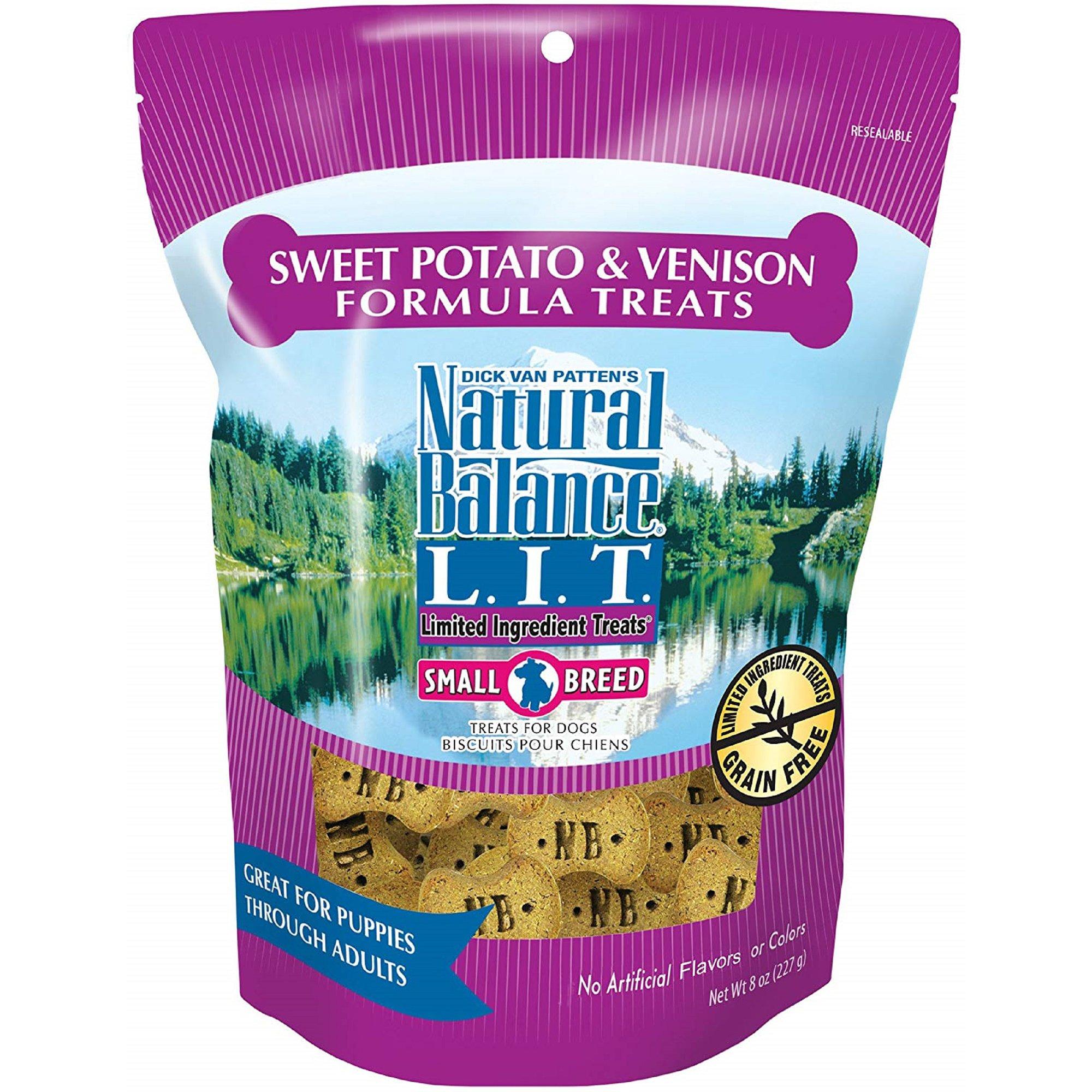Natural Balance Sweet Potato And Venison Dog Treats