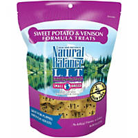 Natural Balance L.I.D. Limited Ingredient Diets Small Breed Sweet Potato & Venison Formula Dog Treats