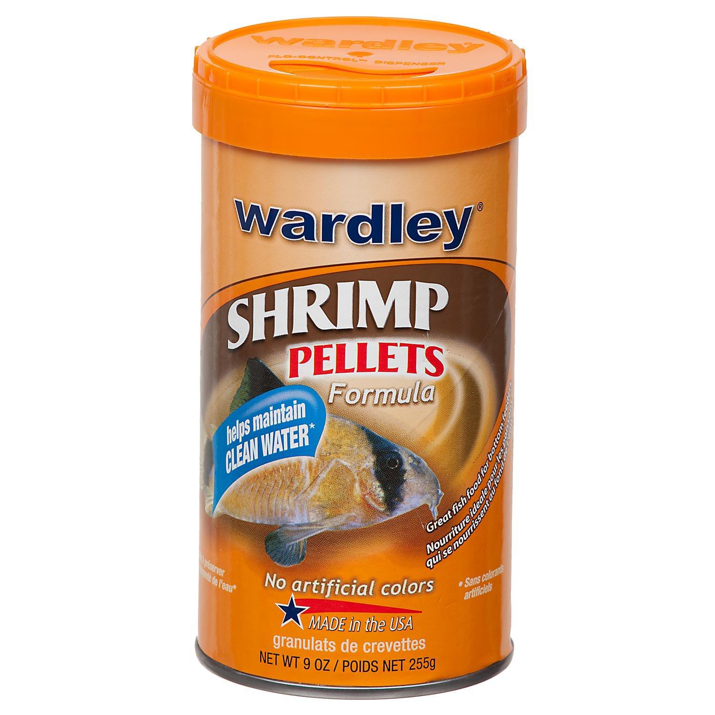 wardley shrimp pellets sinking tropical food petco