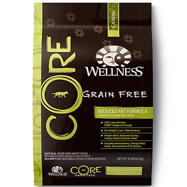 Wellness CORE Natural Grain Free Reduced Fat Recipe Dry Dog Food