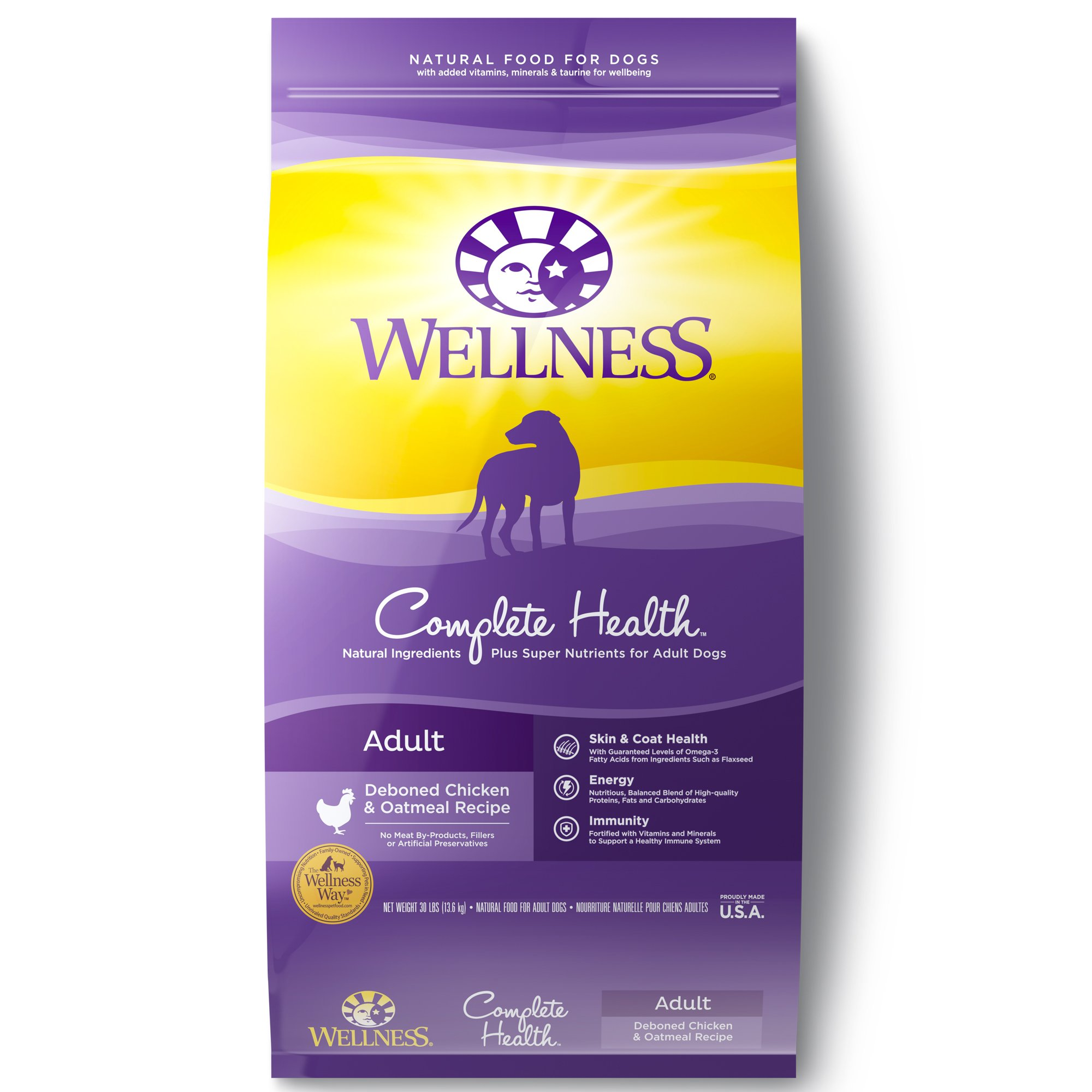 Wellness complete health natural chicken recipe dry dog food petco forumfinder