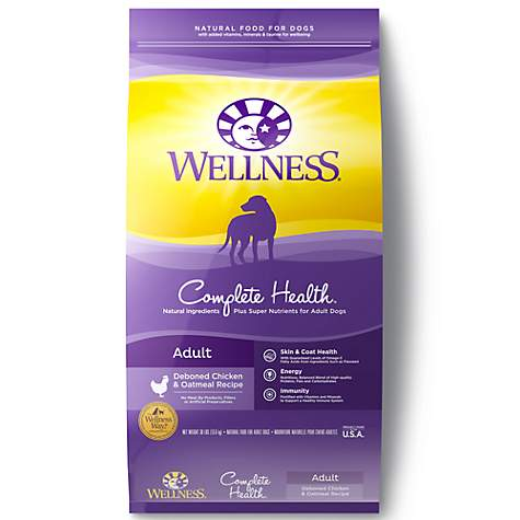 Wellness Complete Health Natural Chicken Recipe Dry Dog Food Petco